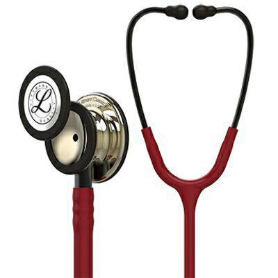 リットマン 聴診器 クラシック� ブラック (シャンパン加工)
