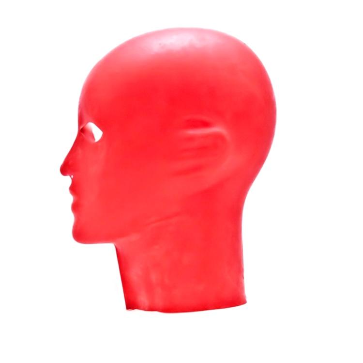 【KURAGE】Men's Anatomical Mask[Red][One Size]※ファスナー無し