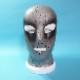 【Latex Moscow】Anatomical Latex Mask Galaxy[XL][Silver×Black Shade]