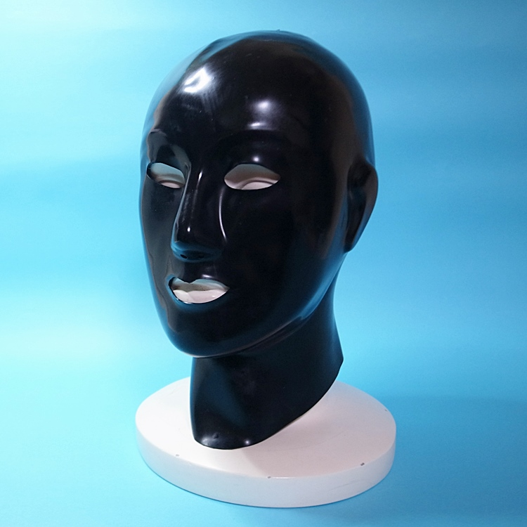 【Latexa】Latex Rubber Heavy Hood[BLACK][ONE SIZE]