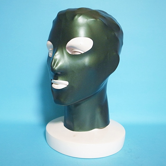 【Latex Moscow】Anatomical Latex Mask[Green Pearl]