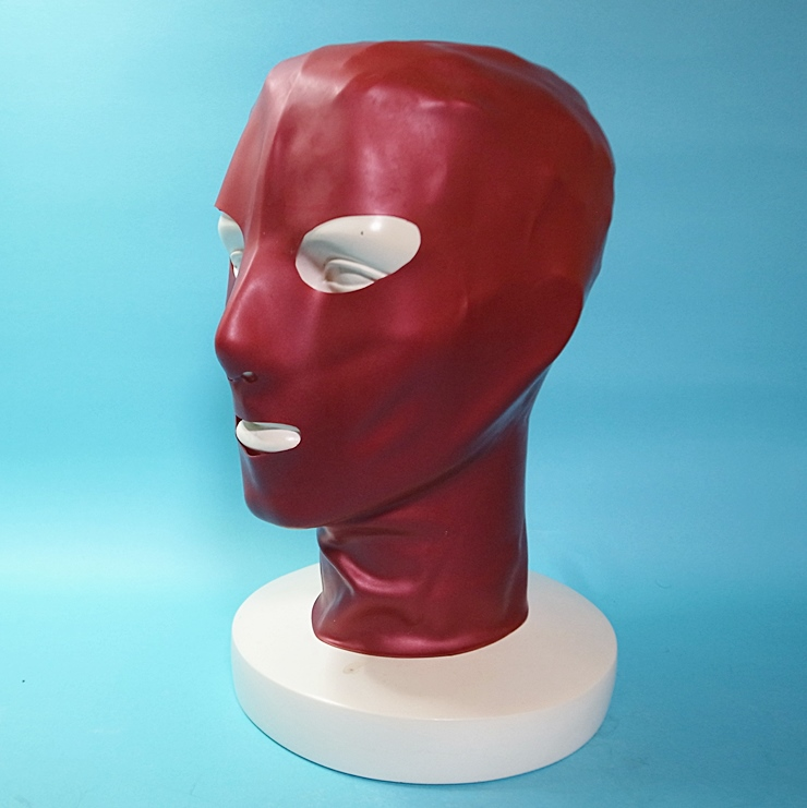 【Latex Moscow】Anatomical Latex Mask[Metallic Red]
