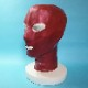 【Latex Moscow】Anatomical Latex Mask[XL][Metallic Red]