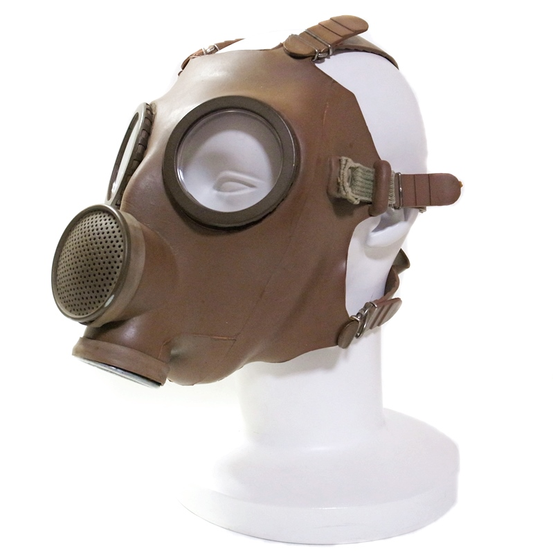 【GasMask】French/Belgium Gas Mask M51