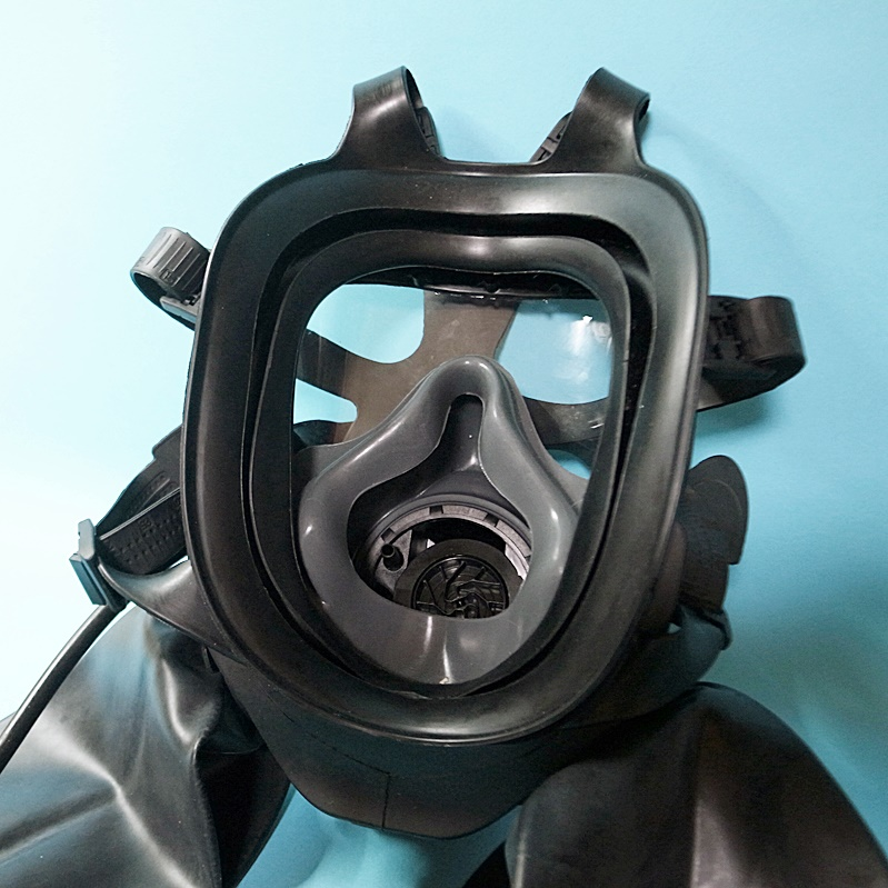【Regulation】Double Rebreathe GSR Gas Mask[Black][One Size]