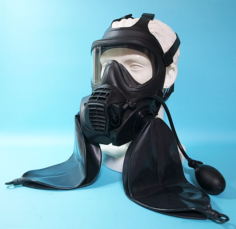【Regulation】Double Rebreathe GSR Gas Mask