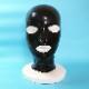 【Latex-Maske】Anatomical Mask with Zipper(アイ・ノーズ・マウスホール)[Black][One Size]※ファスナー有