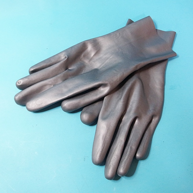 【Latex Moscow】Gloves[Silver]