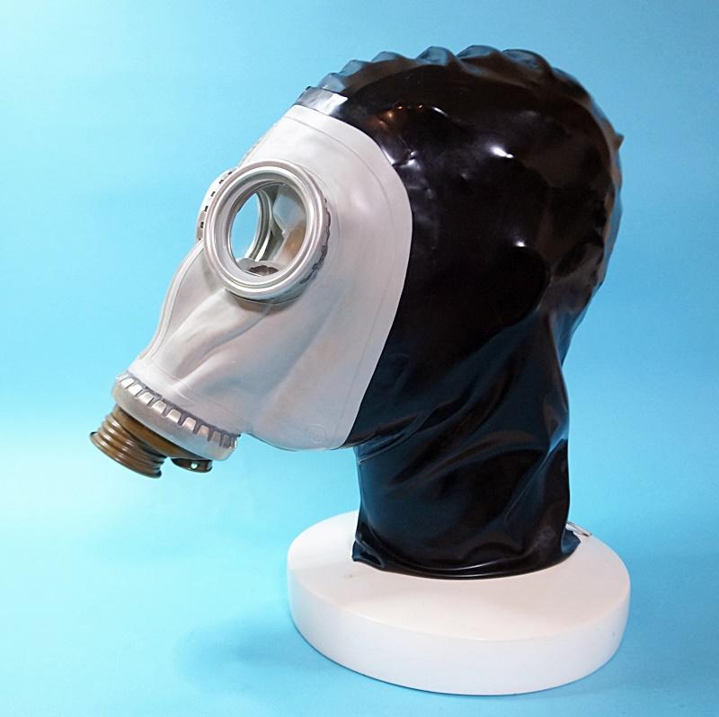 【Latextil】Big Mask 1[Black][M][L]