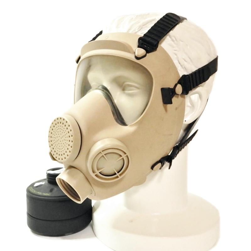 【Gas Mask】French Army / Foreign Legion ARF-A [Beige]