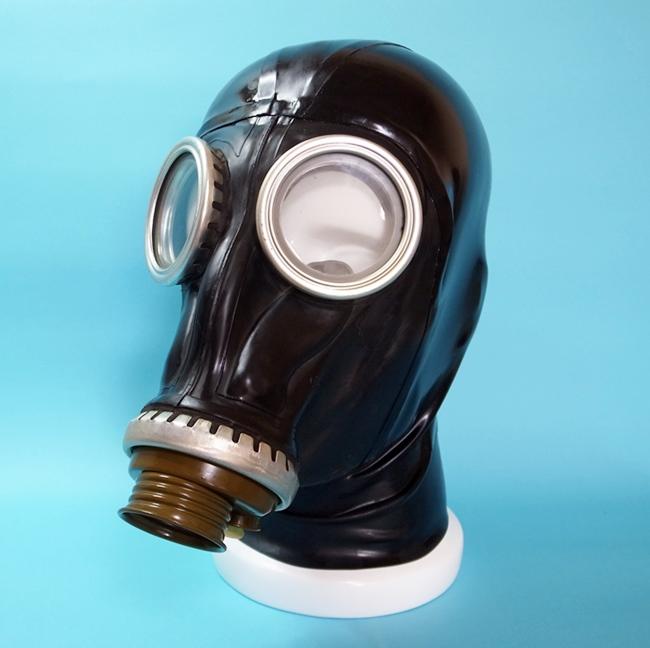【Bizarre-Rubber-Shop】Russian GP-5 Gas Mask with Hood[Black]