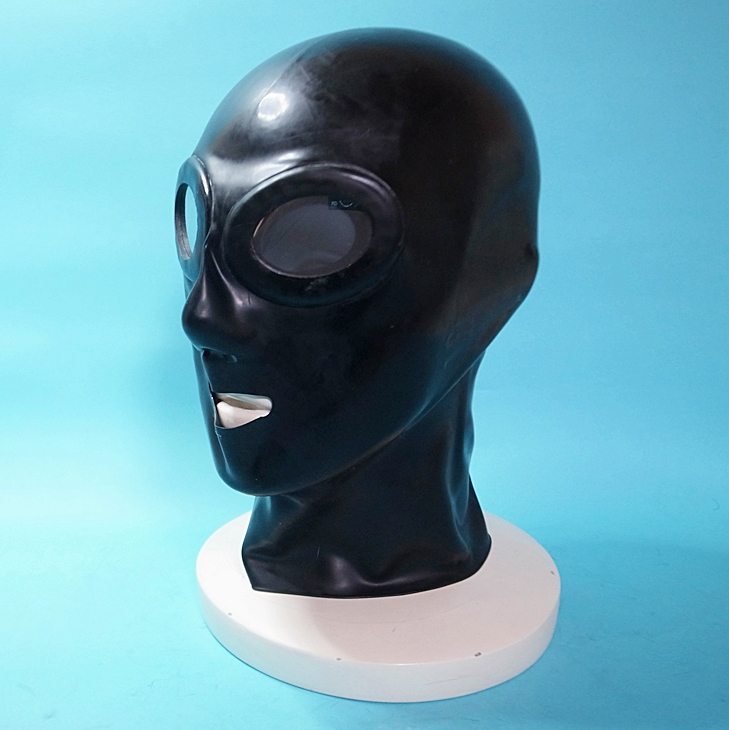 【Latex Moscow】Anatomical Latex Mask:OV[Black]