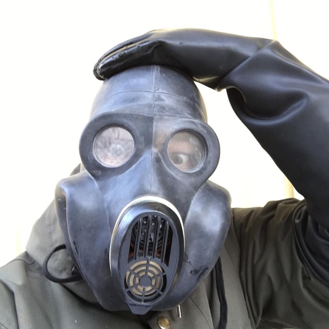 【GasMask】Russian EO-19 PBF Gas Mask[M](サイズ2)[Black]
