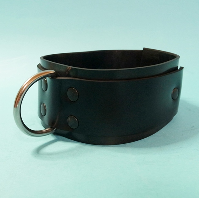 【Bizarre-Rubber-Shop】Collar with D-Ring 5,5 [Black]