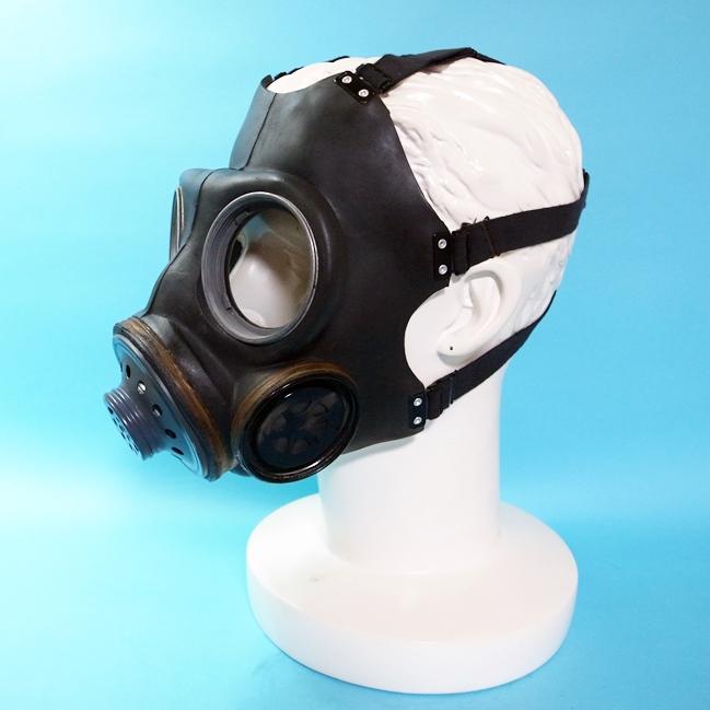 【GasMask】British MK Gas Mask[Black][Mサイズ目安]