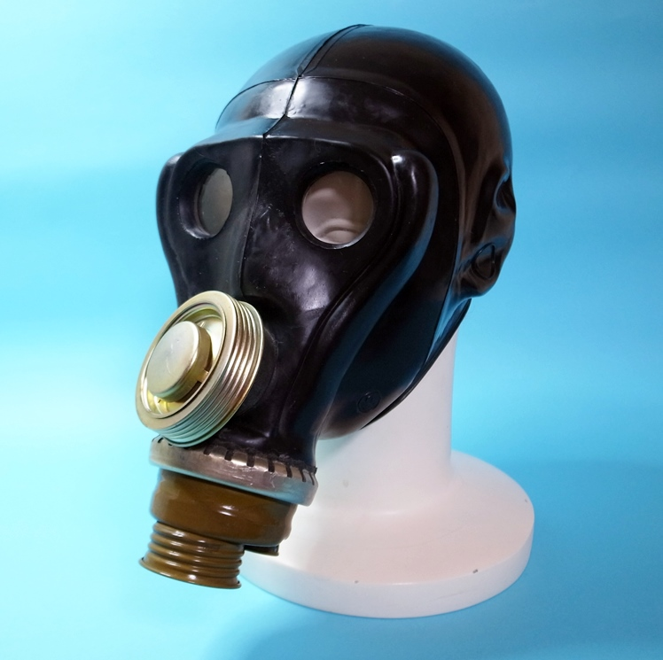 【GasMask】Russian PRV-U Gas Mask[Black]