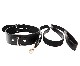 【Secret Latex】Human Dog Collar and Lead[One Size][Black]