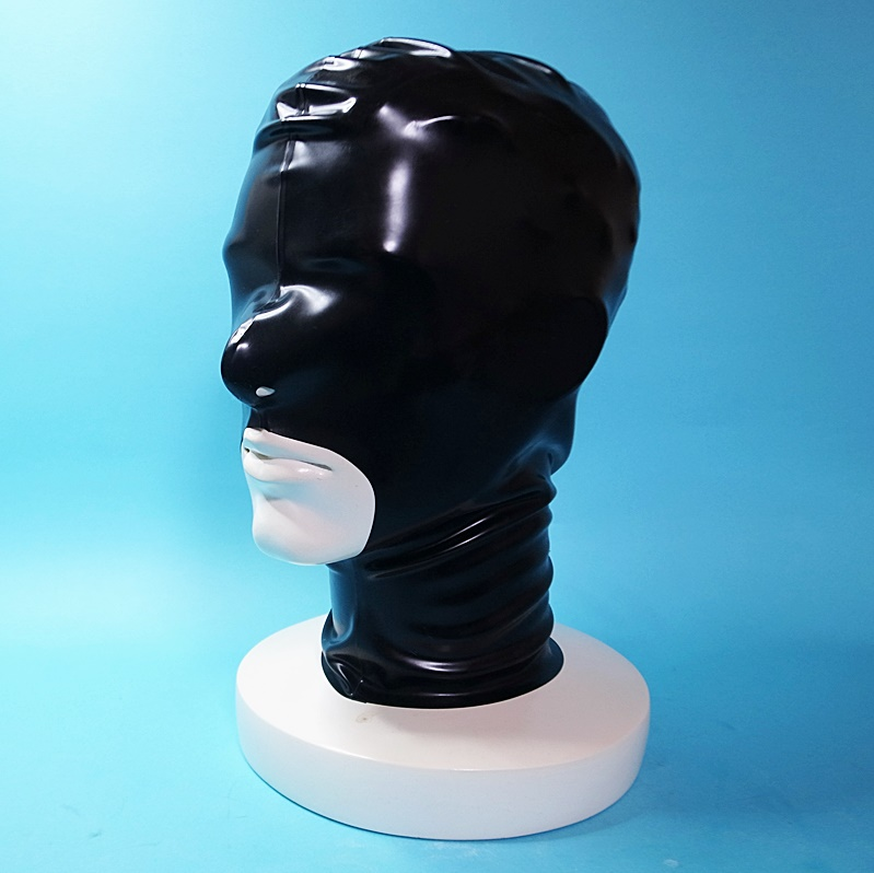 【Latextil】Open Mouth[Black]