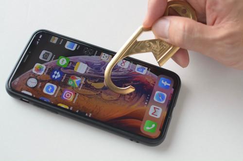 純銅 HAND HOOK(ハンドフック)Copper カバーセット   抗菌ドアオープナー