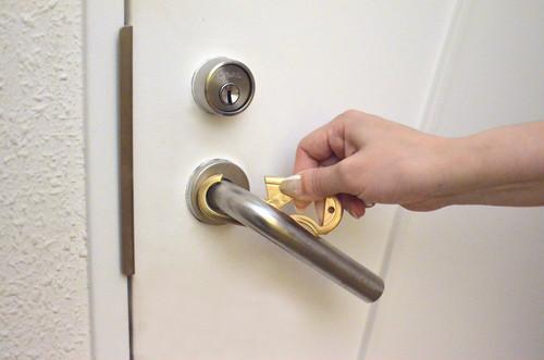 真鍮 HAND HOOK(ハンドフック)Brass カバーセット   抗菌ドアオープナー