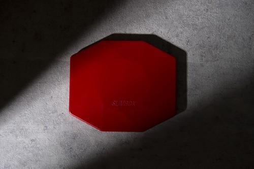 抗菌抗ウイルスマスクケースSLIMBOX(スリムボックス) 【世界初!超薄型軽量マグネシウム合金製】