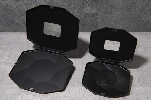 鏡付き 抗菌抗ウイルス マスクケース SLIMBOX(スリムボックス)ミラー 【世界初!超薄型軽量マグネシウム合金製】