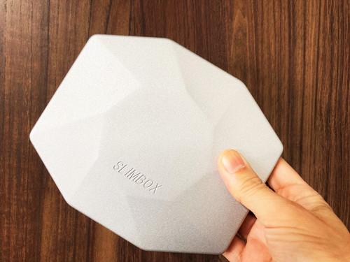 メタリック SLIMBOX(スリムボックス)抗菌抗ウイルスマスクケース Lサイズ