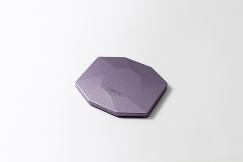 メタリック 鏡付き  SLIMBOX(スリムボックス)抗菌抗ウイルスマスクケース Lサイズ