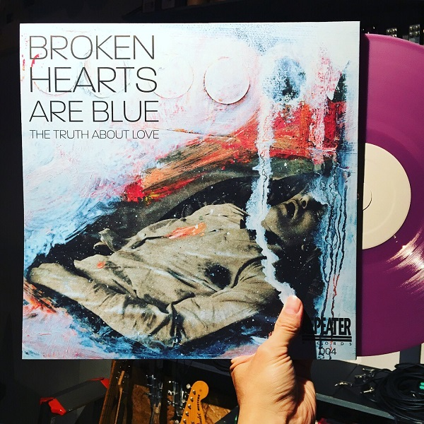 BROKEN HEARTS ARE BLUE / The Truth About Love  LP(PERPLE)+MP3