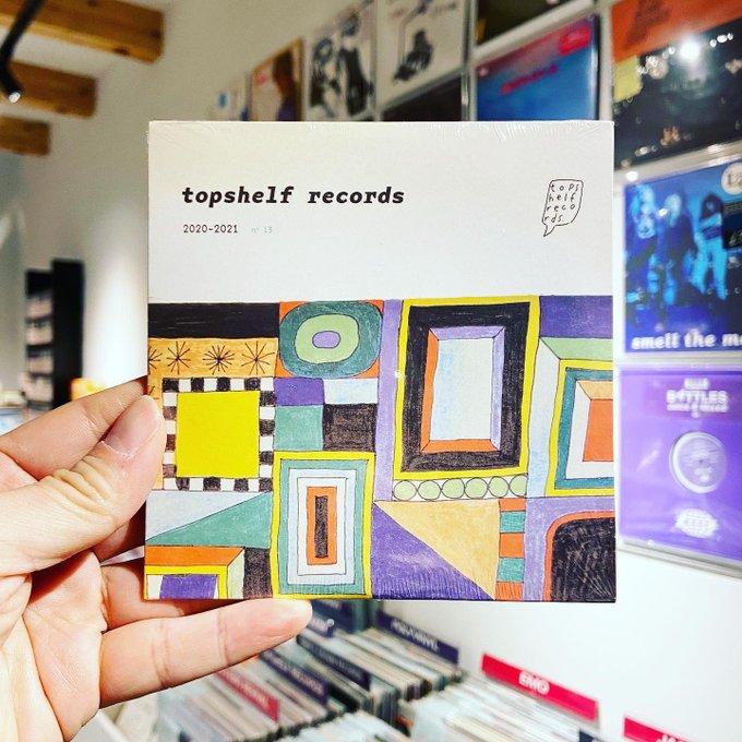 VA / Topshelf Records 2020 / 2021 Sampler (CD or CASSETTE)