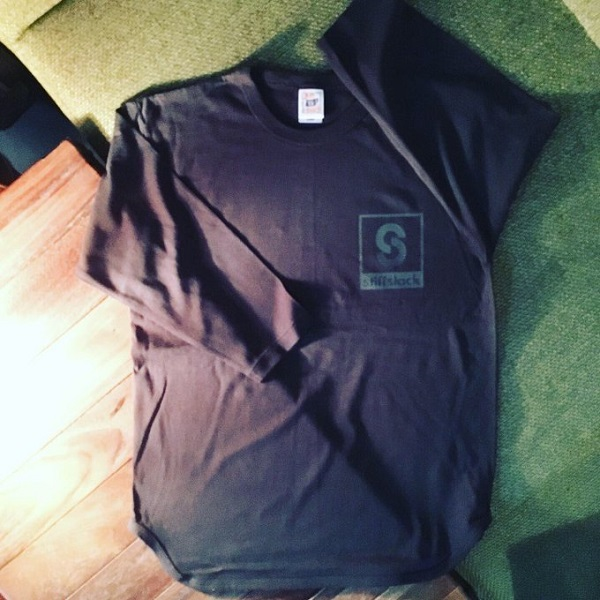 STIFFSLACK / SSロゴ ベースボールシャツ (BLACK)