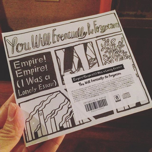 EMPIRE! EMPIRE! (I WAS A LONELY ESTATE) / You Will Eventually Be Forgotten CD