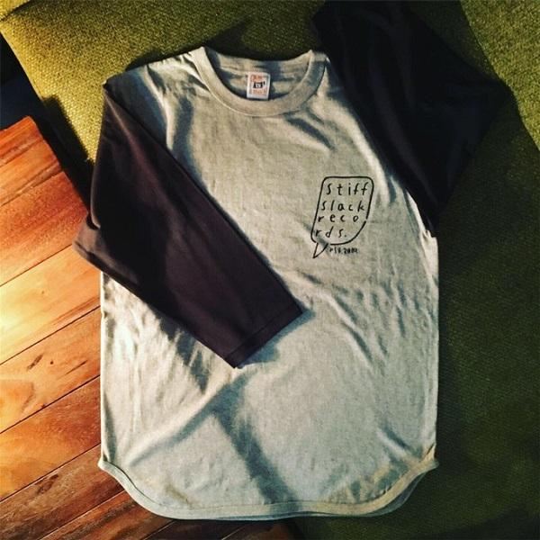 STIFFSLACK / StiffShelf ベースボールシャツ (GRAY/BLACK)