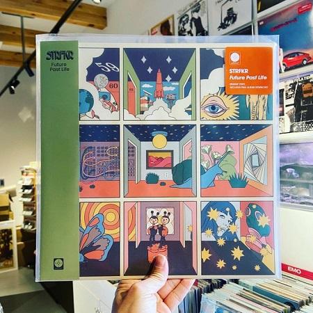 STRFKR / Future Past Life  LP+MP3