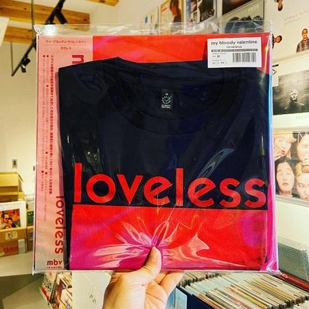 MY BLOODY VALENTINE / Loveless LP+T-Shirts set
