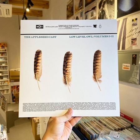THE APPLESED CAST / Low Level Owl, Vol. 1 + 2  3xLP(CLEAR)