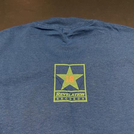QUICKSAND / Revlation 18 T-SHIRTS (BLUE)