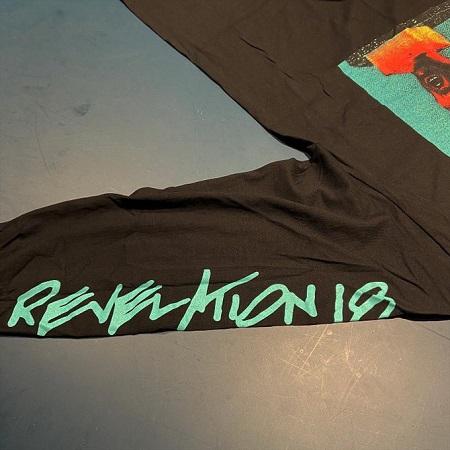 QUICKSAND / Revelation 18 Long Sleeve T-SHIRTS (BLACK)