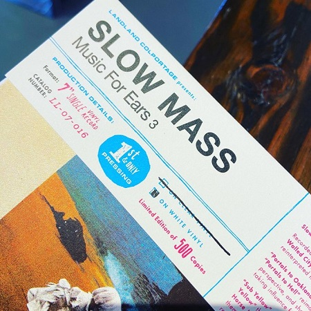 """SLOW MASS / Music For Ears 3 7""""(WHITE)+MP3"""