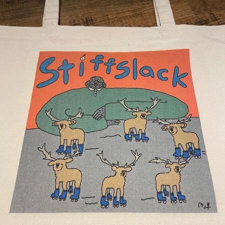 STIFFSLACK / Dog & Deer(s) トートバッグ