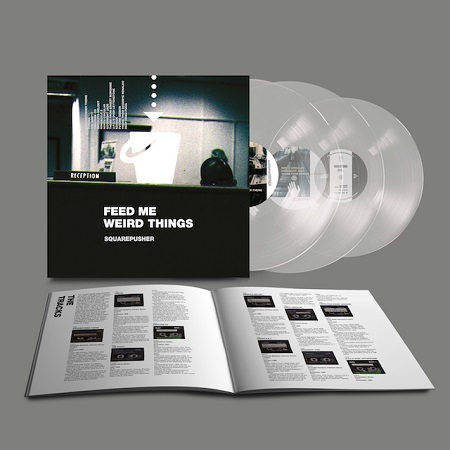 """SQUAREPUSHER / Feed Me Weird Things  2xLP+10""""(CLEAR)+MP3"""