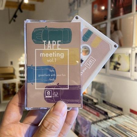 VA / TAPE meeting : Volume 1  CASSETTE+MP3