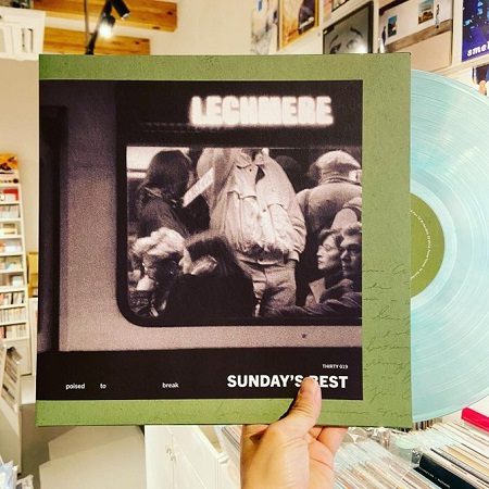 SUNDAY'S BEST / Poised To Break  LP(CLEAR)