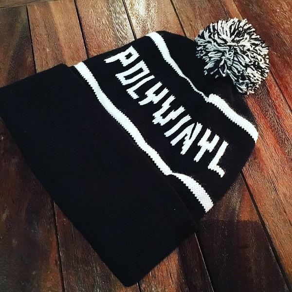 POLYVINYL /Polyvinyl Pom  Knit Hat