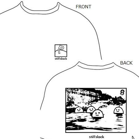 STIFFSLACK / §PIDERLAND T-SHIRTS(WHITE)