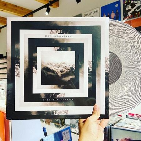 MAN MOUNTAIN / Infinity Mirror  LP(PICTURE)