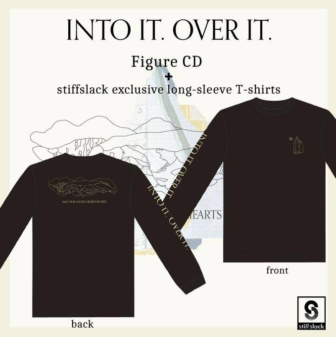 INTO IT. OVER IT. / Figure  LONG T-SHIRTS(BLACK)+CD BUNDLE SET