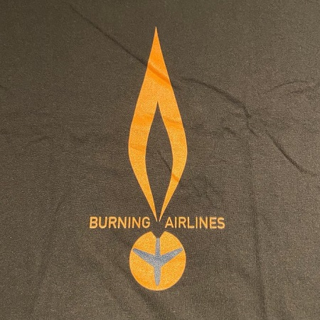 BURNING AIRLINES / Mission : Control Shirt