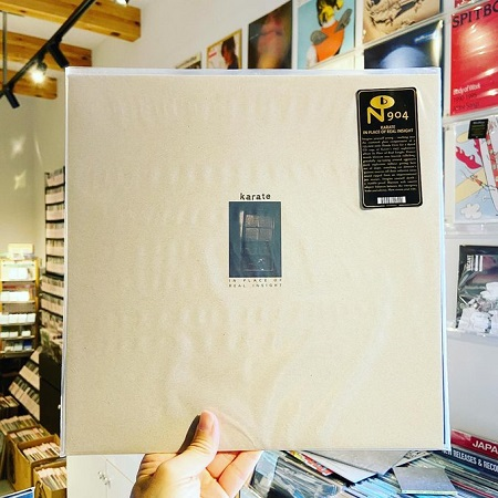 KARATE / In Place Of Real Insight  LP