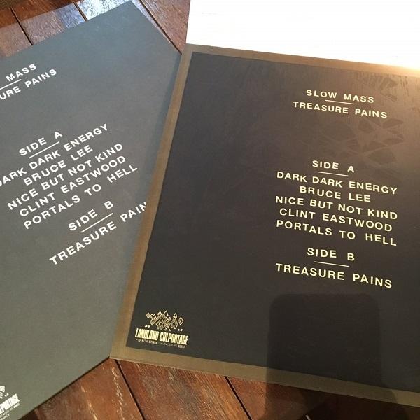 SLOW MASS / Treasure Pains LP(WHITE/DELUX VER.)+MP3